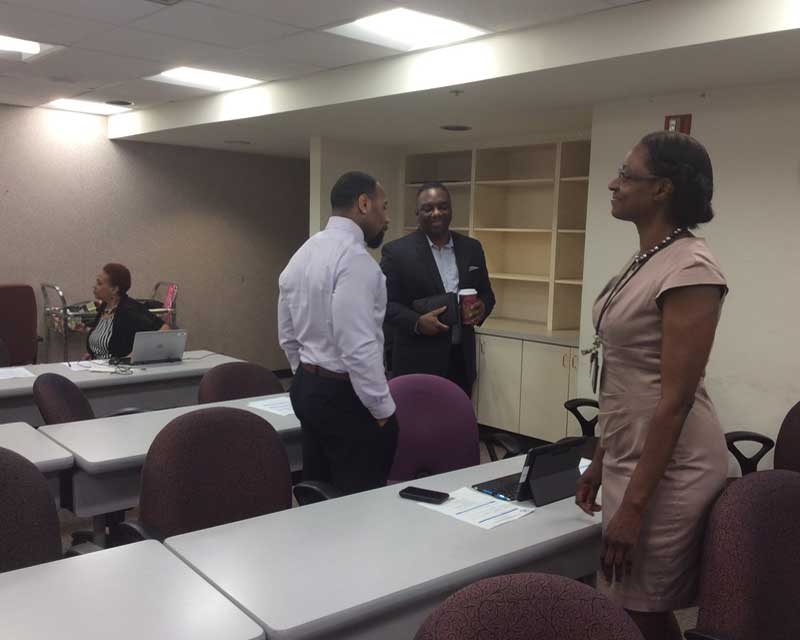 Lamont Norwood Speaking at SBA Workshop Image 2